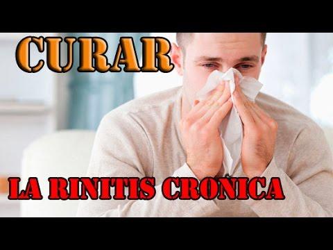 rinitis alergica cronica remedios caseros