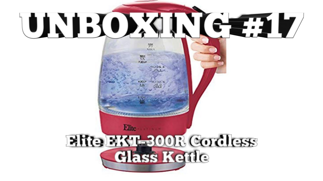 Unboxing the Elite Platinum Cordless Kettle