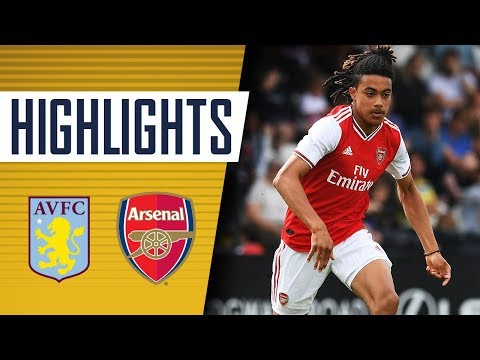 HIGHLIGHTS | Aston Villa 1 - 5 Arsenal | U18s