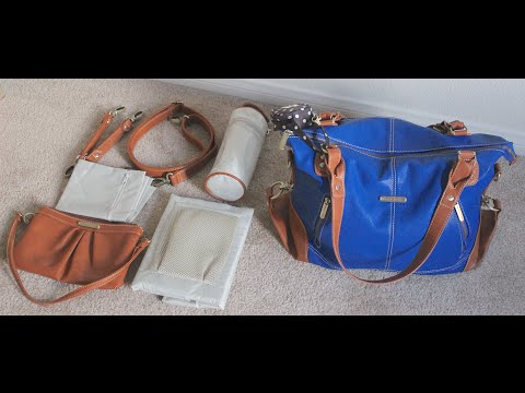 Timi Leslie Kate Diaper Bag Review On The Body What S In My