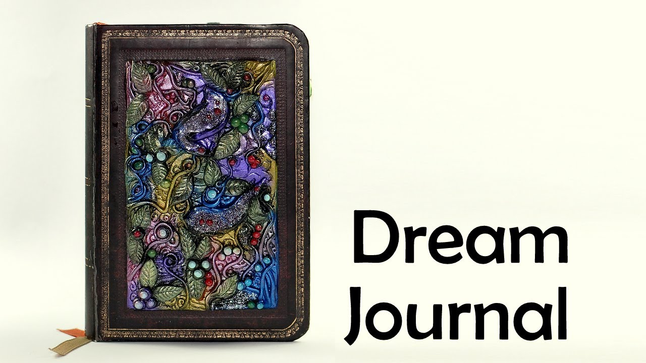 Angel wing polymer clay journal by mandarin duck youtube.