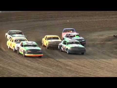 IMCA Hobby Stock Heats Independence Motor Speedway 7/30/16