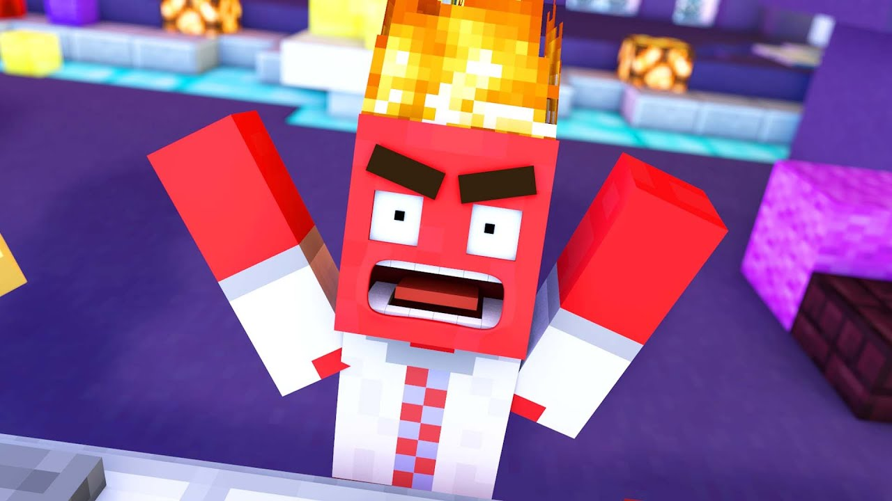 Inside Out In Minecraft (Minecraft Animation) - YouTube