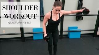 GET SEXY SCULPTED SHOULERS | Sculpted shoulders and toned arm workout