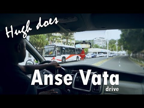 A drive from La Tontouta International Airport, New Caledonia to Anse Vata, Noumea