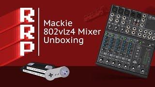Mackie 802vlz4 Studio Mixer Unboxing