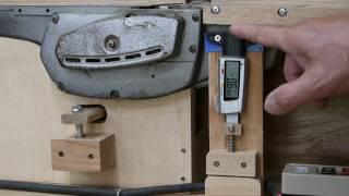 マキタ1805N電気カンナ利用の手押しカンナ盤