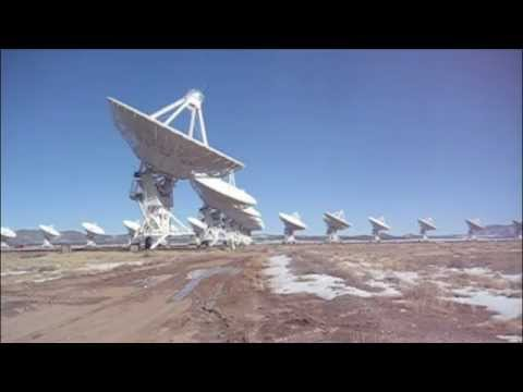 Karl G. Jansky Very Large Array (VLA) Antenna Rotation Time-Lapse Video: Socorro, New Mexico