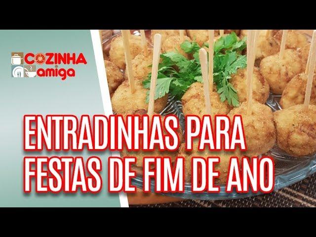 Entradinhas para festas de fim de ano - Gabriel Barone | Cozinha Amiga (28/12/18)