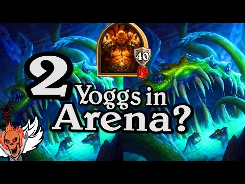 2 Yoggs in Arena & 40 Armour 🍀🎲 ~ Journey to Un'Goro ~ Hearthstone Heroes of Warcraft