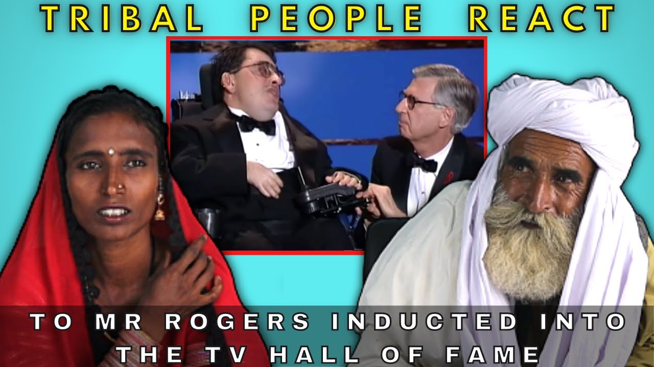 Tribal People React to Mr Rogers Inducted Into The TV Hall of Fame