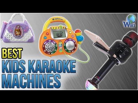 10 Best Kids Karaoke Machines 2018