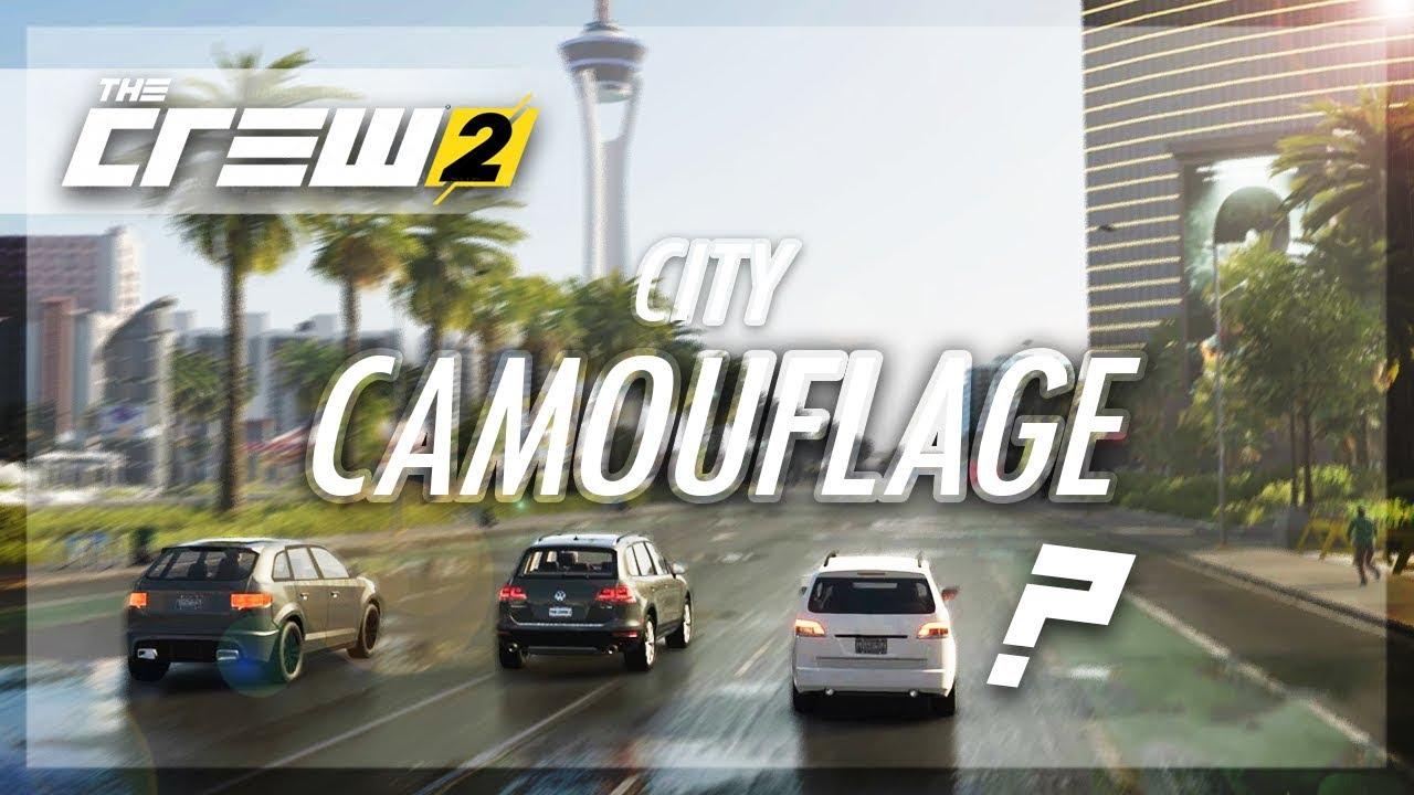 The Crew 2 - CITY CAMOUFLAGE!! (Las Vegas Strip Edition)