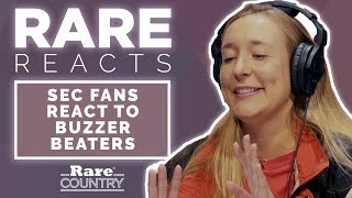 SEC Fans React to Buzzer Beaters | Rare Country