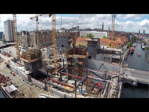 ZÜBLIN - Project Blox Copenhagen Process of Construction