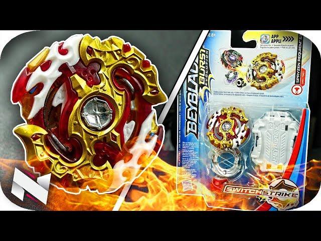 Spryzen Requiem UNBOXING + TEST!! || Beyblade Burst Evolution || Hasbro Beyblade