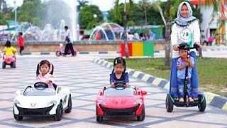 Naik Mobil Mobilan Mainan Anak 🚗  Ferrari Lamborghini - Wahana Bermain Anak Taman Berlabuh Tarakan