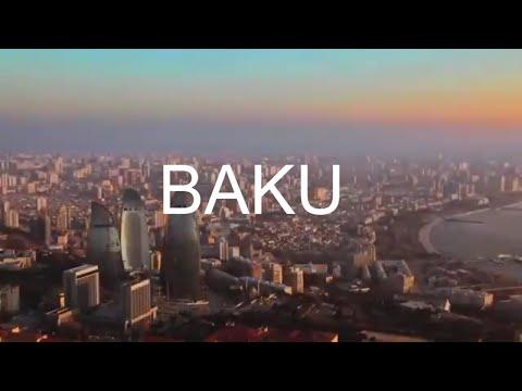 Baku, capital of Azerbaijan.The whole world in one city مدينة باكو عاصمة دولة أذربيجان   العالم كله