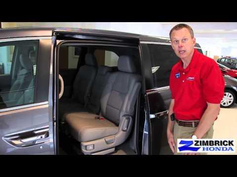 2014 Honda Odyssey Video Walkaround By Lynn At Wisconsin Honda Dealership Zimbrick