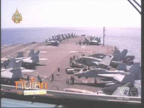 7AUG11 THAILAND ; Thai PBS Visits the U S  Navy