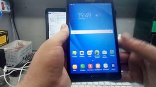 Сброс аккаунта гугл Samsung SM-T285 Galaxy Tab A 7 (2016) FRP remove