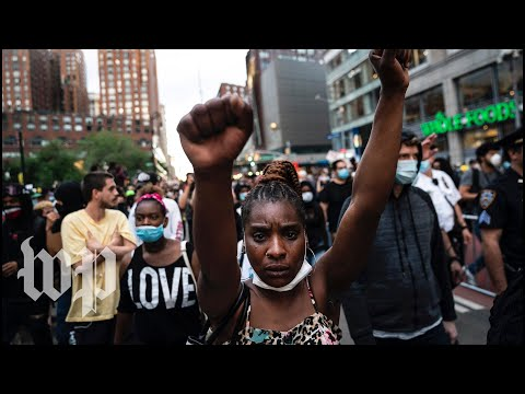 Black New Yorkers Say They're 'tired' Of Injustice As Turbulent Protests Rage On