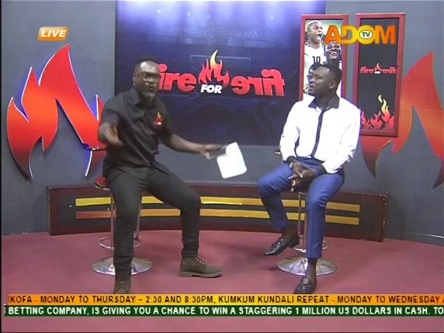 Commentary Position - Fire 4 Fire on Adom TV (14-8-18)