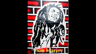 Bob Marley Painting| Wall Painting| Graffiti| Portrait Painting Beginners Guide| Part 3/5 Bob Marley
