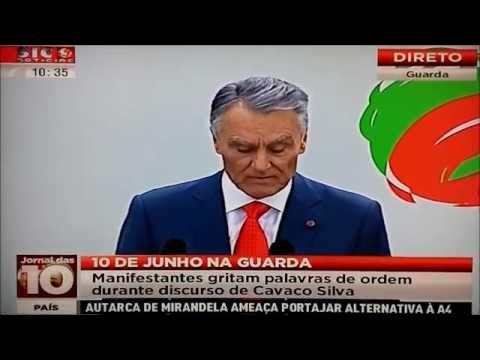 Cavaco Silva desmaia durante o discurso do 10 de junho