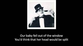 Benny Bell - Shaving Cream w/LYRICS