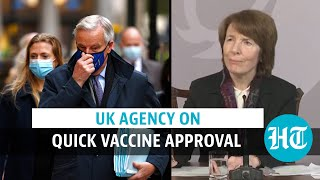 'Benefits outweigh risk': UK agency on Covid vaccine approval