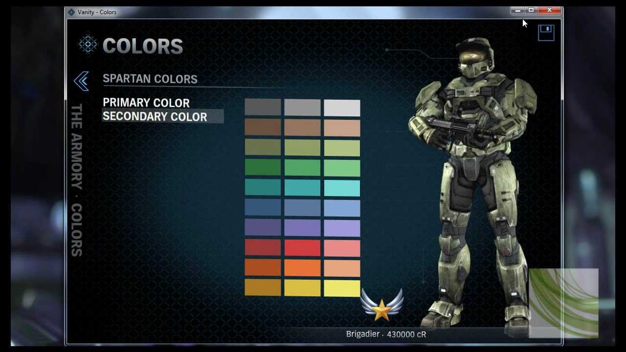 How to look like master chief in halo reach hd youtube - Master chief in halo reach ...