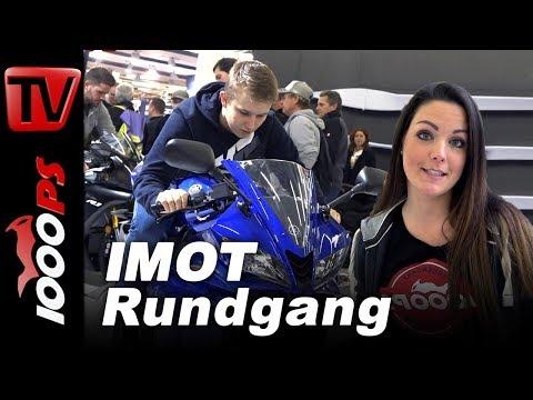 IMOT München 2018 - Motorrad Neuheiten auf der Messe - Rundgang mit Juliane