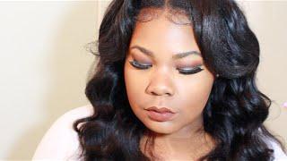 #MAKEUPMONDAYS: BLUE BROWN PIGMENT SMOKEY EYE | Mary Elizabeth