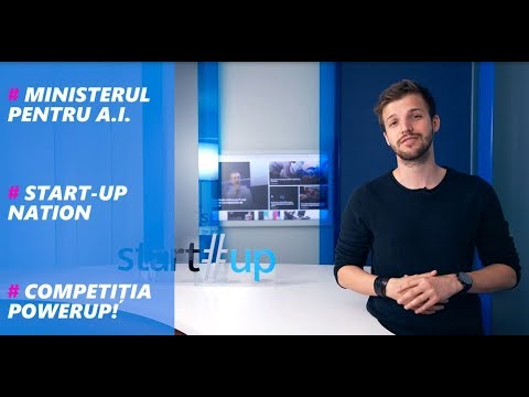 REZULTATE START-UP NATION, MINISTRU PENTRU AI, HOMEPOD LA POWERUP! - BUSINESS REPORT