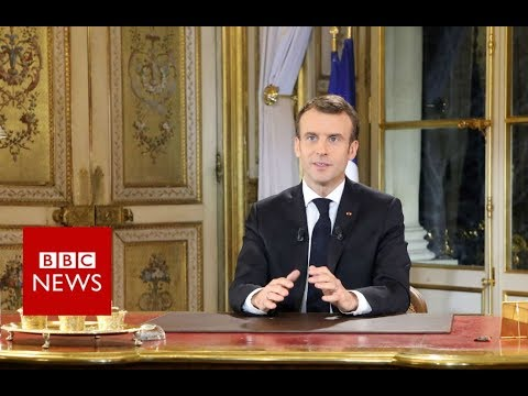 Macron: 'I am partly responsible' for unrest - BBC News