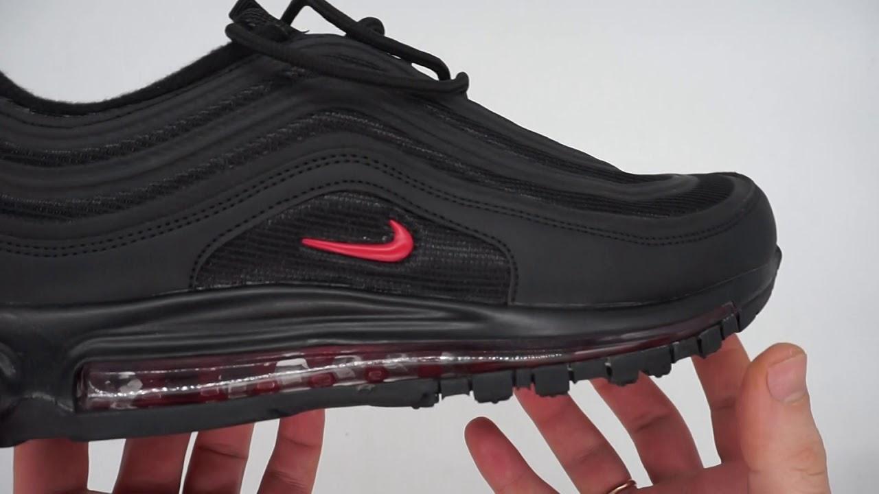 Обзор мужских кроссовок Nike air max 97 - черные