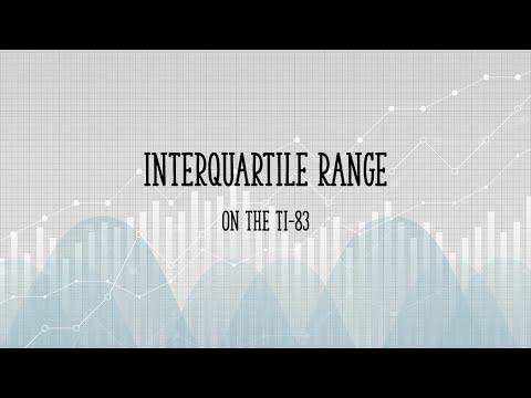 Ti 83 interquartile range youtube ti 83 interquartile range ccuart Choice Image
