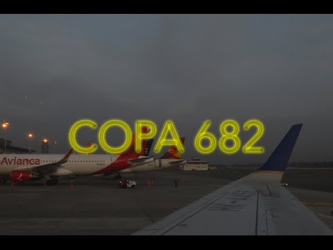 Embraer 190 | COPA AIRLINES | BOG-PTY | Bogota-Panama