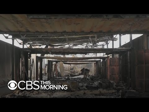 Inside an Iraqi air base attacked by Iran
