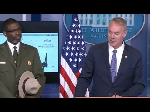 Secretary Ryan Zinke gives Justification on Cancelling the Coal Leasing Programme  4/3/17
