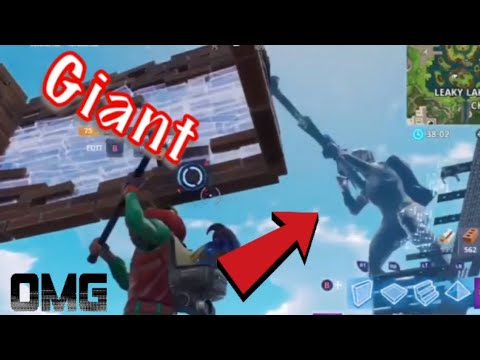 Becoming a GIANT on Fortnite