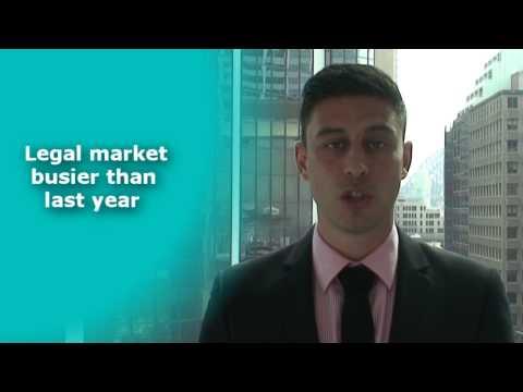 Sydney Legal Support Job Market Update