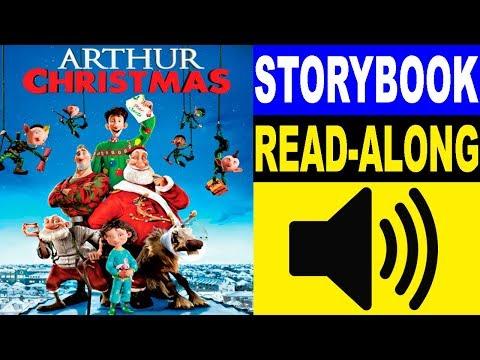 Arthur Christmas Read Along Story Book Read Aloud Story Books For Kids Youtube