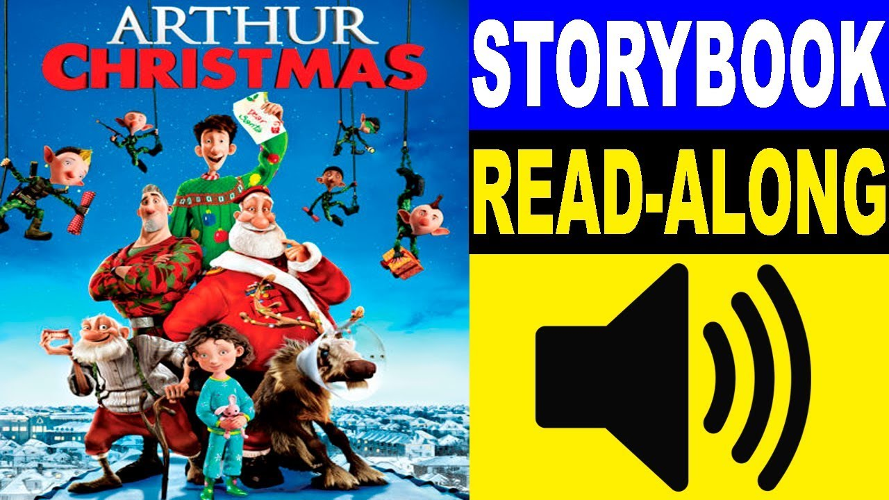 Arthur Christmas Read Along Story book | Read Aloud Story Books ...