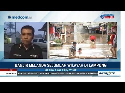 600 Rumah di Tulang Bawang Terendam Banjir 2 Meter