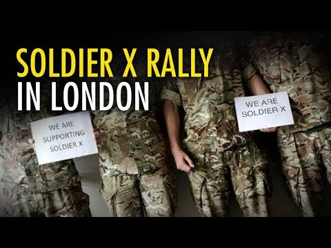 Tommy Robinson: #IAmSoldierX rally date correction