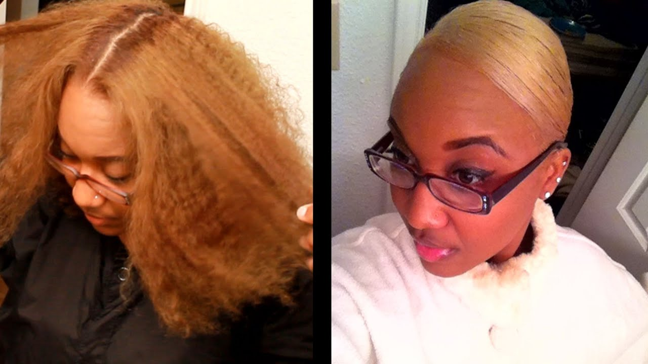 Sandy Brown to Blonde Haircolor!--Janae Miller - YouTube