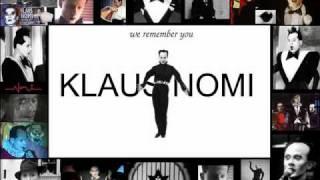 Klaus Nomi - Dido und Aeneas Dido's Lament