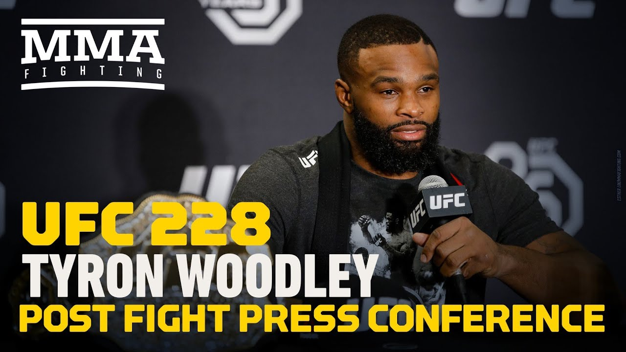 cc48ebc7 UFC 228: Tyron Woodley Post-Fight Press Conference - MMA Fighting ...